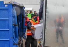 Gobernador de Puno recibe segundo lote de 6.650 dosis de vacunas contra el COVID-19 (VIDEO)