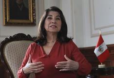 Llaman la atención a Martha Chávez por interrumpir varias veces votación en pleno del Congreso