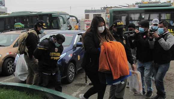 Detenciones se concretaron en distintos sectores de la ciudad de Tacna.