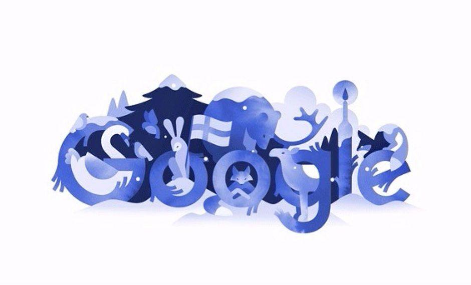 Google celebra el centenario de la Independencia de Finlandia