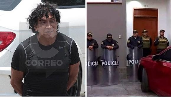Allanan dieciséis viviendas vinculadas a Peter Ferrari en Lima, Casma y Pasco (VIDEO)