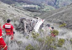 Ayacucho: Viaje familiar terminó en tragedia tras volcadura de una combi