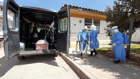 Pandemia de COVID-19 en Cusco. Foto: Juan Sequeiros.