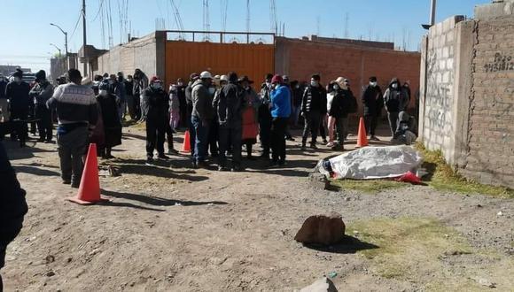 El cuerpo fue encontrado cerca del aeropuerto internacional Inca Manco Cápac. (Foto: Difusión)