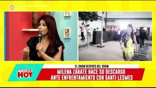 """Milena Zárate en América Hoy: """"He tenido que bloquear este programa en mi casa"""" (VIDEO)"""