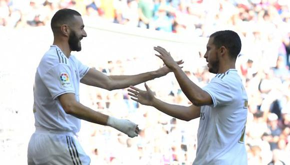 Eden Hazard se ha perdido los últimos ocho partidos de Real Madrid. (Foto: AFP)