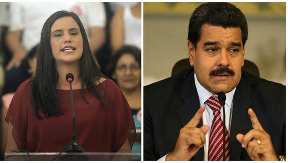 """Verónika Mendoza sobre Nicolás Maduro: Lo """"más propicio era el referéndum"""""""