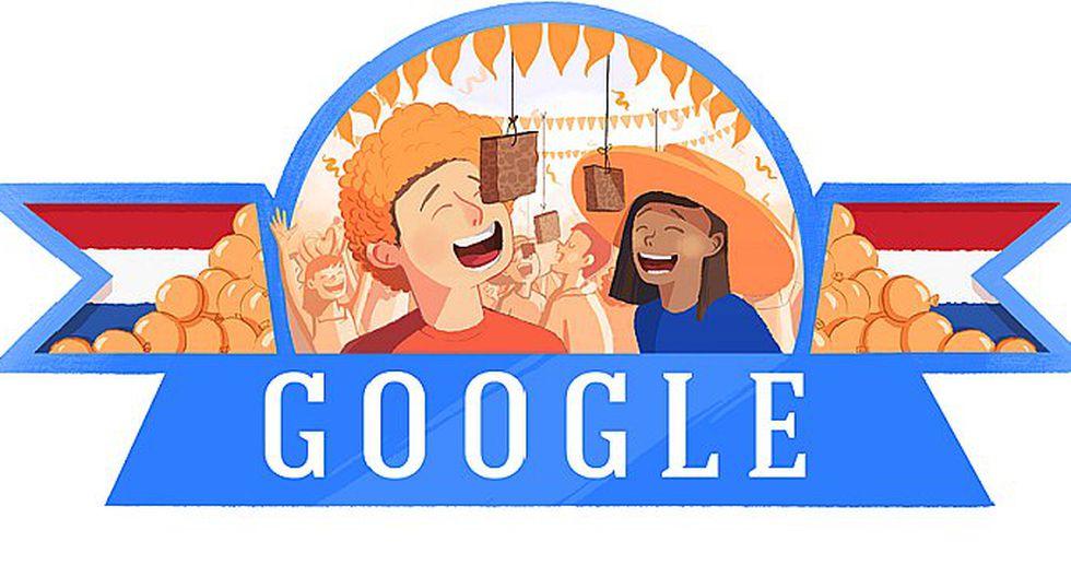 Google celebra el Día del Rey con pintoresco Doodle