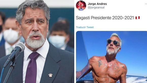 Los peruanos publicaron memes tras conocer quién será el próximo presidente del Perú. | Foto: Composición.
