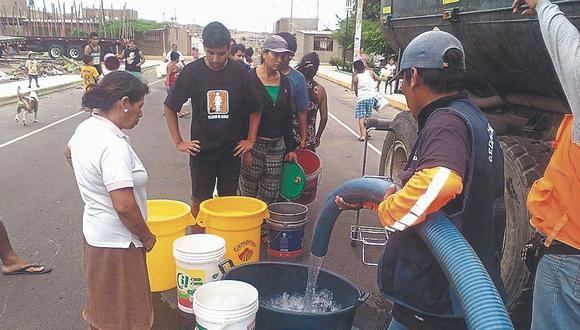 Anuncian restricción de servicio de agua potable, en Chimbote