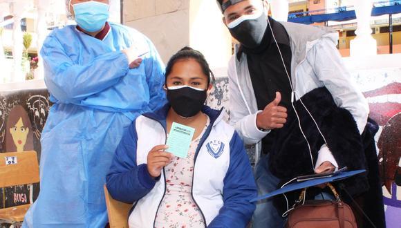 Gestantes con 28 semanas de embarazo serán vacunados contra la covid-19. (Foto: Difusión)