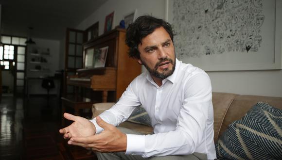 """Vocero del Partido Morado, Daniel Olivares, consideró que la exclusión de su agrupación legislativa constituye un """"acto contrario"""" a lo dispuesto en el Reglamento del Congreso. (Foto: Archivo GEC)"""