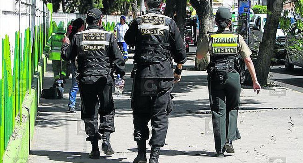 Arequipa: Dos efectivos del serenazgo de la comuna provincial son amenazados de muerte