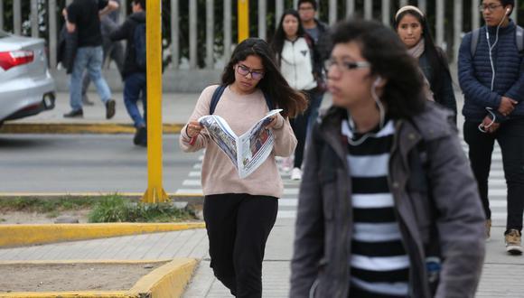 Estudiantes de educación superior podrán postular hasta el 23 de septiembre a 10 mil becas, según Pronabec (Foto: Manuel Melgar / GEC)