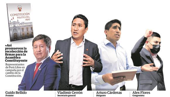 """Congresista Bermejo aboga por creación de empresas estatales, mientras Alex Paredes asegura que el modelo económico es imposición del """"imperialismo"""""""