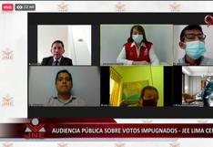 Elecciones 2021: Mira AQUÍ la audiencia del JEE Lima Centro 1 sobre voto impugnado de peruanos residentes en el extranjero