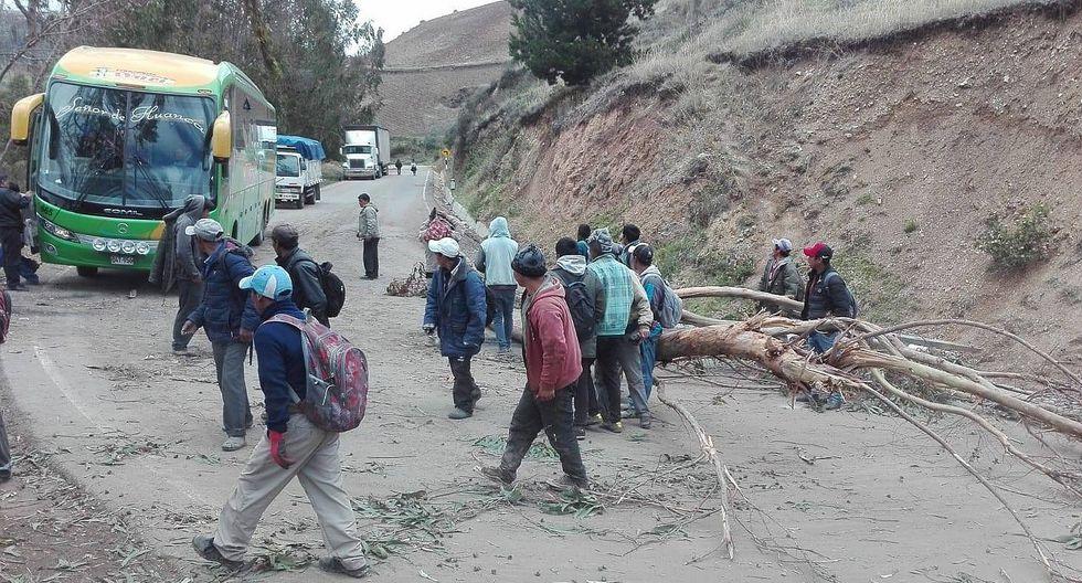 Pobladores mantienen bloqueada vía Abancay – Andahuaylas por quinto día