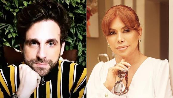 """Rodrigo González criticó a Magaly Medina en la reciente edición de """"Amor y fuego"""". (Foto: @rodgonzalezl/@magalymedinav)"""