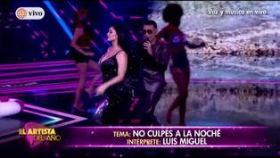 """Pamela Franco y Josimar cantaron un tema de Luis Miguel en """"El Artista del Año"""""""