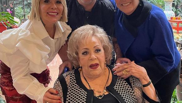 Silvia Pinal cumplió 90 años. (Instagram: @sylviapasqueloficial).
