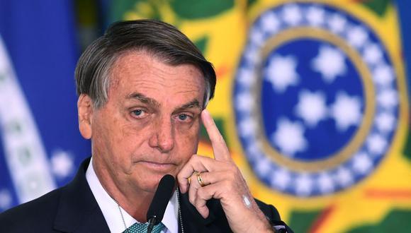 El presidente de Brasil, Jair Bolsonaro, será trasladado a Brasilia para una posible operación intestinal. (EVARISTO SA / AFP).
