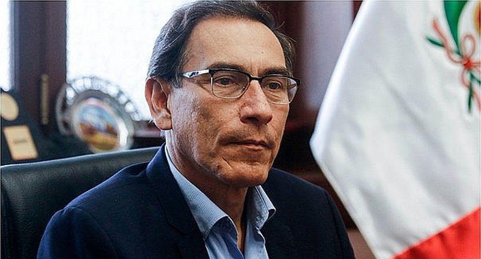 Martín Vizcarra aseguró que no sabe quién lo reemplazaría si viaja al extranjero