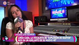 Linda Caba, cantante de 'Explosión de Iquitos', se muestra por primera vez sin maquillaje (VIDEO)
