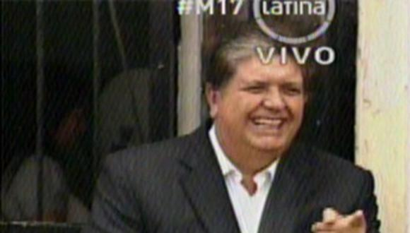 Alan García: Revocatoria es un llamado de atención y remezón a los grupos políticos