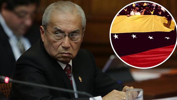 Pedro Chávarry asegura que pagaron a venezolanos para que protesten en su contra