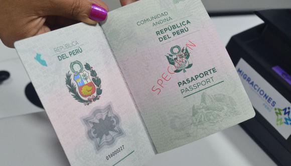 La vigencia del e-pasaporte para los adolescentes entre 12 y 17 años y para los mayores de edad es de cinco años, solo para los menores de 12 años el documento tiene una vigencia de tres años. (Foto: Andina)
