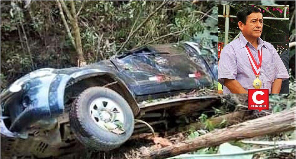 El subprefecto de Jililí muere en un accidente de tránsito
