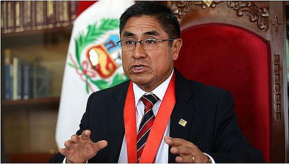 Rechazan recusación de César Hinostroza contra presidente de Sala Penal de Corte Suprema