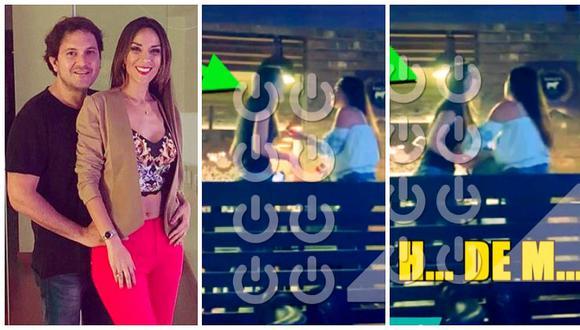 Silvia Cornejo encara a presunta amante de su pareja en conocido restaurante (VIDEO)