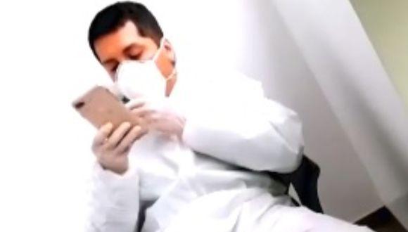 Luis Felipe Luna Morales, hijo del excongresista José Luna Gálvez, fue denunciado por el presunto delito de violación sexual. (Foto: captura video América Televisión)