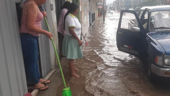 Serios daños dejó las fuertes lluvias en comunidades de Santa Rosa