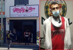 Lo capturan tras repetir robo armado en tienda de ropa para damas