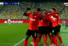 Real Madrid sorprendido por Dentinho, autor del 1-0 de Shakhtar en Champions (VIDEO)