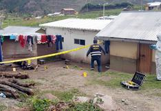 Hombre mata a madre de familia a hachazos delante de su hijo en Cusco
