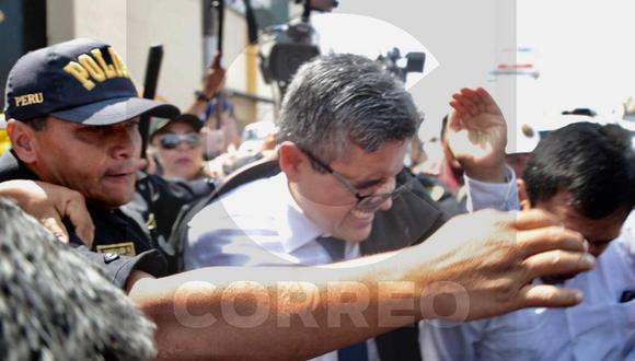 Policia abre investigación para determinar responsables por agresión a fiscal José Domingo Pérez (VIDEO)