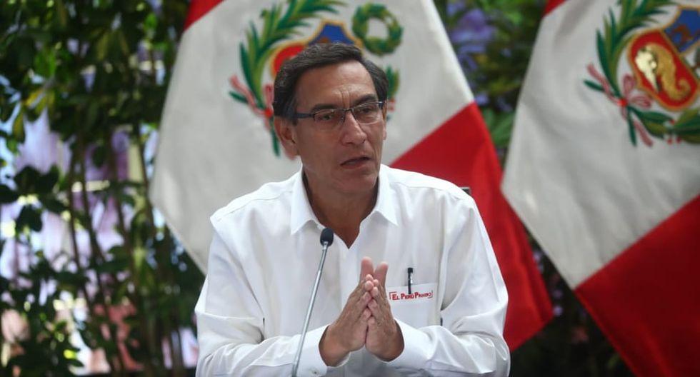 """Martín Vizcarra sobre estado de emergencia por coronavirus: """"Creemos que no habrá prórroga"""""""