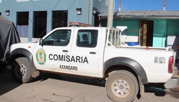 La madre de familia puso la denuncia ante la comisaría PNP de Azángaro. (Foto: Referencial)