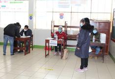 La Oroya: a las 10:00 de la mañana instalaron la última mesa de votación