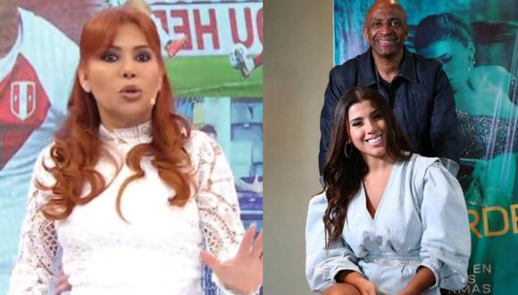 Magaly Medina opina que Sergio George se alejó de Yahaira Plasencia cuando terminó su relación con Jefferson Farfán. | Foto: ATV - Instagram.