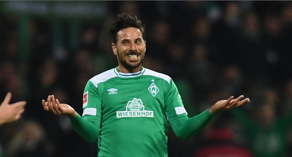Mira el golazo que anotó Claudio Pizarro en el Werder Bremen vs. Borussia Dortmund para el 2-2