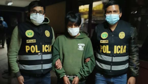 Segundo Apaza fue capturado en Bolivia. (Foto: PNP)
