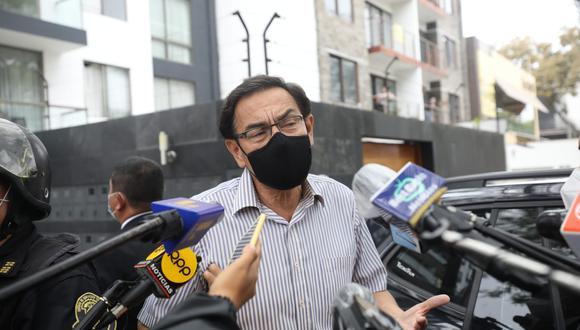 Martín Vizcarra se pronunció sobre decisión del Tribunal Constitucional. (Foto: Britanie Arroyo / @photo.gec)