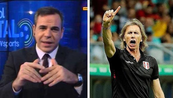 Ricardo Gareca en la mira de la AFA, según periodista deportivo (VIDEO)