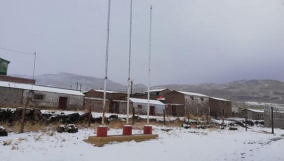 Lluvias y nevadas se registrarán en Arequipa