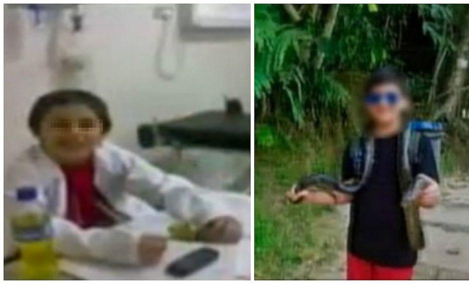 Mateo, el niño que contrajo la ameba 'comecerebros' durante viaje a Iquitos