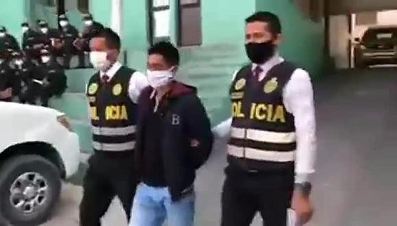 Dictan prisión preventiva a sujeto que asesinó al esposo de su amante en Ayacucho.